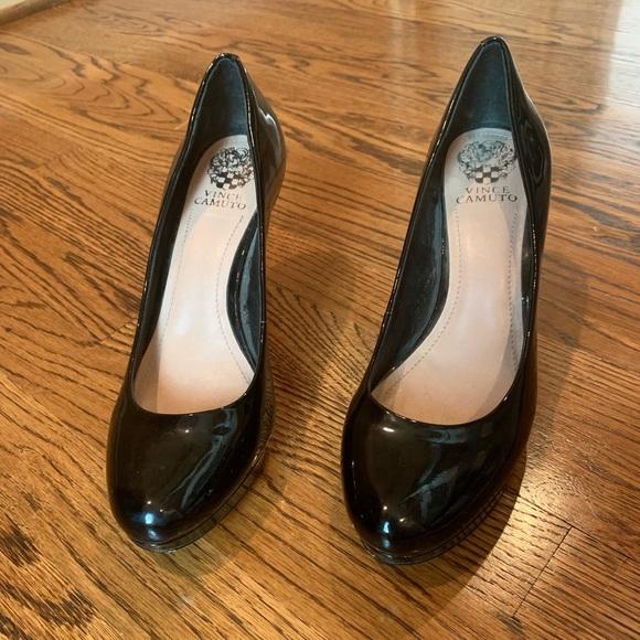 b219bb6f07 Vince Camuto Shoes | Classic Round Patent Pumps | Poshmark